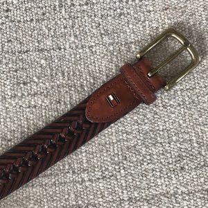 Tommy Hilfiger mens bonded Leather belt size 38